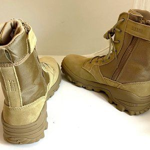 5.11 Tactical Men's Leather Side Zip Boots